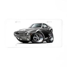 1968-69 AMX Black Car Aluminum License Plate