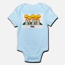 Cute Japan earthquake Infant Bodysuit