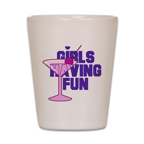 Bachelorette Girls Shot Glass