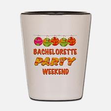 Tropical Bachelorette Weekend Shot Glass