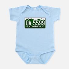 OA-5599 Vanishing Point Infant Bodysuit