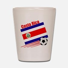 Costa Rica Soccer Team Shot Glass