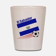 El Salvador Soccer Team Shot Glass
