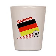 Germany Soccer Team Shot Glass
