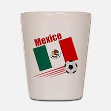 Mexico Soccer Team Shot Glass