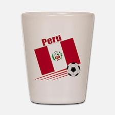 Peru Soccer Team Shot Glass