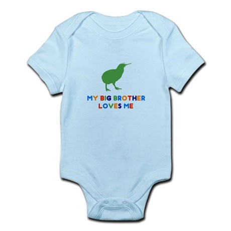 My Big Brother Loves Me Infant Bodysuit