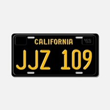 JJZ 109 - Bullitt Aluminum License Plate