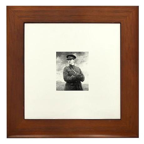 Michael Collins Framed Tile