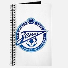 Cute Russian football Journal