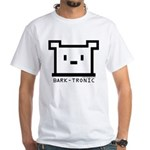 Bark-Tronic Logo White T-Shirt
