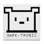 Bark-Tronic Logo Tile Coaster