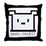 Bark-Tronic Logo Throw Pillow