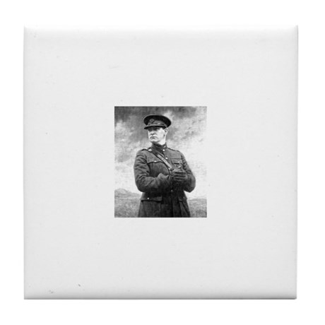 Michael Collins Tile Coaster