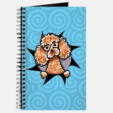 Apricot Poodle Burst Journal