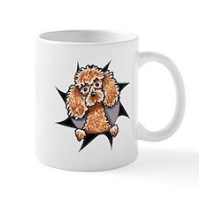 Apricot Poodle Burst Mug