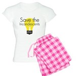 Save the Incandescents Women's Light Pajamas