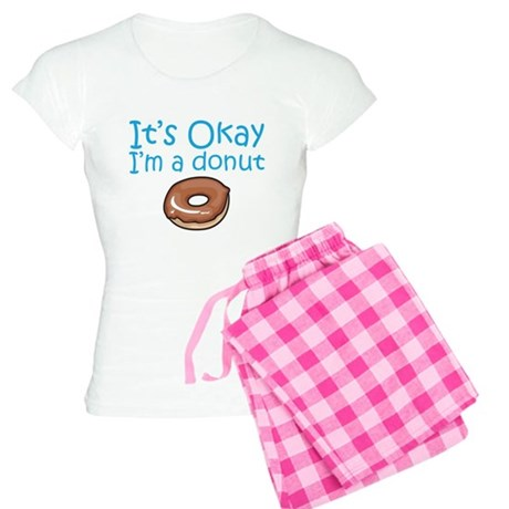 It's Okay, I'm a Donut Women's Light Pajamas