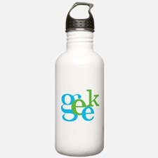 Cute Gamer font Water Bottle