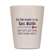 Epic Battle Shot Glass