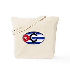 Cuba Intl Oval (colors) Tote Bag