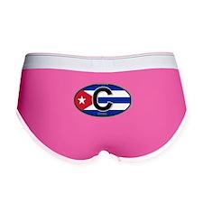 Cuba Intl Oval (colors) Women's Boy Brief