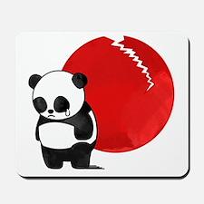 Sad Panda Bear Mousepad