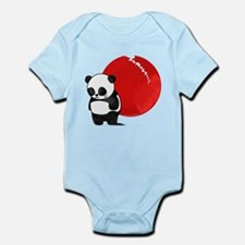 Sad Panda Bear Infant Bodysuit