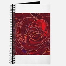 """""""Red Rose"""" painting Journal"""