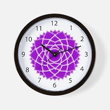 Seventh Chakra (Crown Chakra) Wall Clock