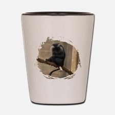 Lion-tailed macaque Shot Glass
