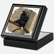Lion-tailed macaque Keepsake Box