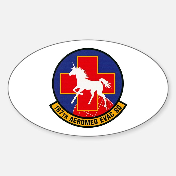 167th Aeromedical Oval Decal