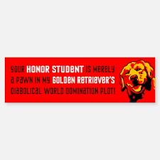 Golden Retriever Revolution! Bumper Bumper Bumper Sticker