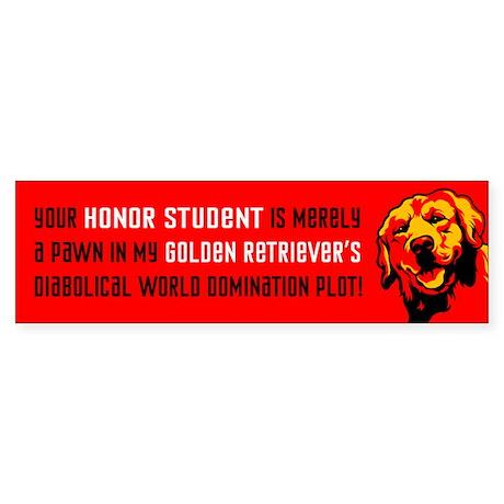 Golden Retriever Revolution! Bumper Sticker