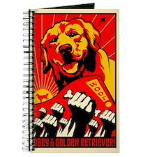 Golden Retriever World Domination Journal