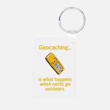 Geocaching Nerds Keychains