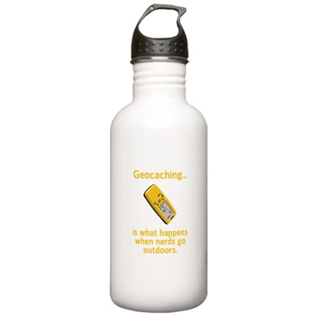 Geocaching Nerds Stainless Water Bottle 1.0L