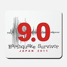 Japan Earthquake Survivor Mousepad