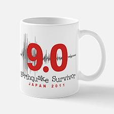 Japan Earthquake Survivor Mug