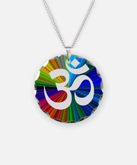 Om 3 Necklace
