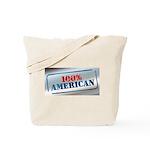 100% American Tote Bag