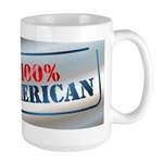 100% American Large Mug