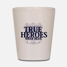 Police: True Heroes Shot Glass