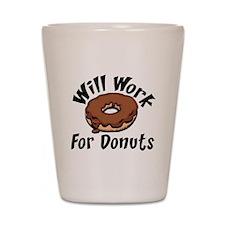 Donuts Shot Glass