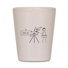 Cameraman Shot Glass