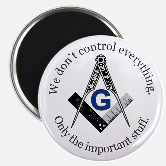 "We don't control everything 2.25"" Magnet (10 pack)"