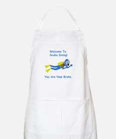 Welcome To Scuba Diving! Apron