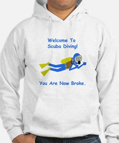Welcome To Scuba Diving! Hoodie