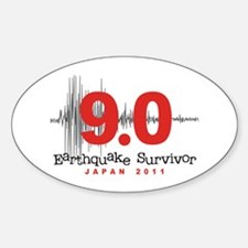 Japan Earthquake Survivor Decal